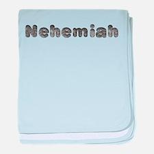 Nehemiah Wolf baby blanket
