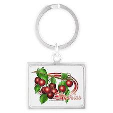 Cherries 02 Landscape Keychain