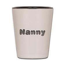 Nanny Wolf Shot Glass