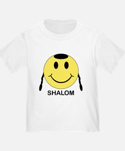 Shalom Happy Face T