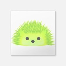 "Vedgy the Hedgehog Square Sticker 3"" x 3"""