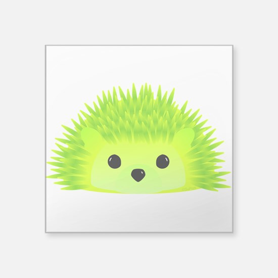 "Vedgy the Hedgehog Square Sticker 3"" x 3"""