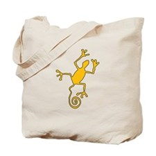 Frog Petroglyph Tote Bag