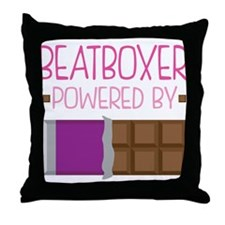 Beatboxer Throw Pillow