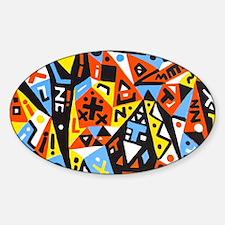 picasso Sticker (Oval)