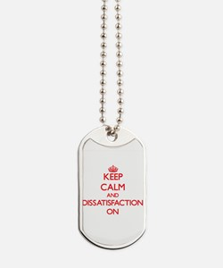 Dissatisfaction Dog Tags