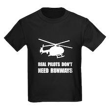 Helicopter Pilot Runways T-Shirt