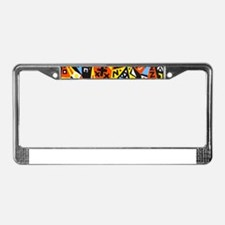picasso License Plate Frame
