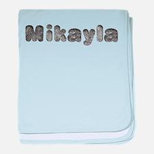 Mikayla Wolf baby blanket