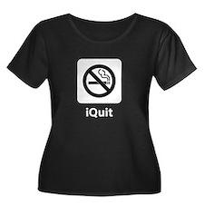 iQuit Plus Size T-Shirt
