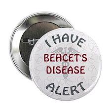 """BEHCET'S DISEASE 2.25"""" Button (10 pack)"""