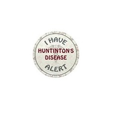 HUNTINGTON'S DISEASE Mini Button