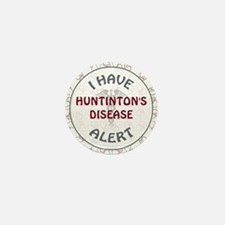 HUNTINGTON'S DISEASE Mini Button