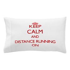 Distance Running Pillow Case