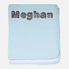 Meghan Wolf baby blanket