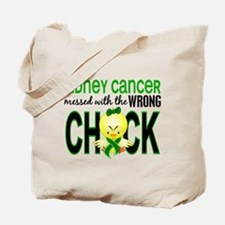Kidney Cancer (Green) MessedWithWrongChic Tote Bag