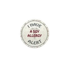 SOY ALLERGY Mini Button