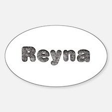 Reyna Wolf Oval Decal