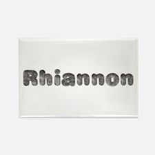 Rhiannon Wolf Rectangle Magnet
