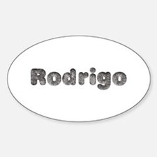 Rodrigo Wolf Oval Decal