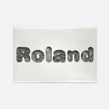 Roland Wolf Rectangle Magnet