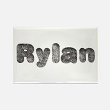 Rylan Wolf Rectangle Magnet