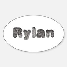 Rylan Wolf Oval Decal