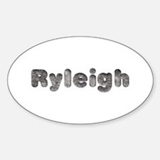 Ryleigh Wolf Oval Decal