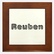 Reuben Wolf Framed Tile
