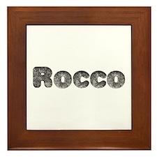 Rocco Wolf Framed Tile