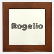 Rogelio Wolf Framed Tile