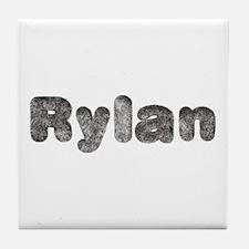 Rylan Wolf Tile Coaster