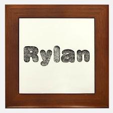 Rylan Wolf Framed Tile