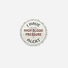 HIGH BLOOD PRESSURE Mini Button