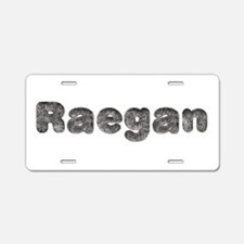 Raegan Wolf Aluminum License Plate