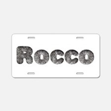 Rocco Wolf Aluminum License Plate