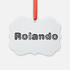 Rolando Wolf Ornament