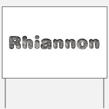 Rhiannon Wolf Yard Sign