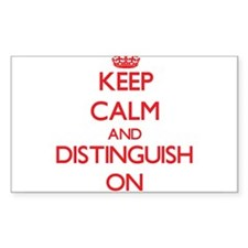 Distinguish Decal