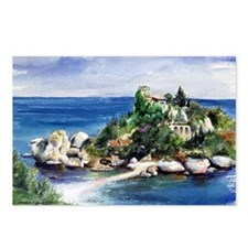 Sicily Isola Bella Postcards (Package of 8)