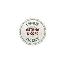 ASTHMA & COPD Mini Button