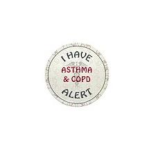 ASTHMA & COPD Mini Button