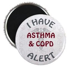 ASTHMA & COPD Magnet
