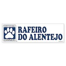 RAFEIRO DO ALENTEJO Bumper Bumper Sticker