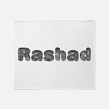 Rashad Wolf Throw Blanket