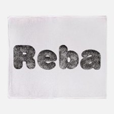 Reba Wolf Throw Blanket
