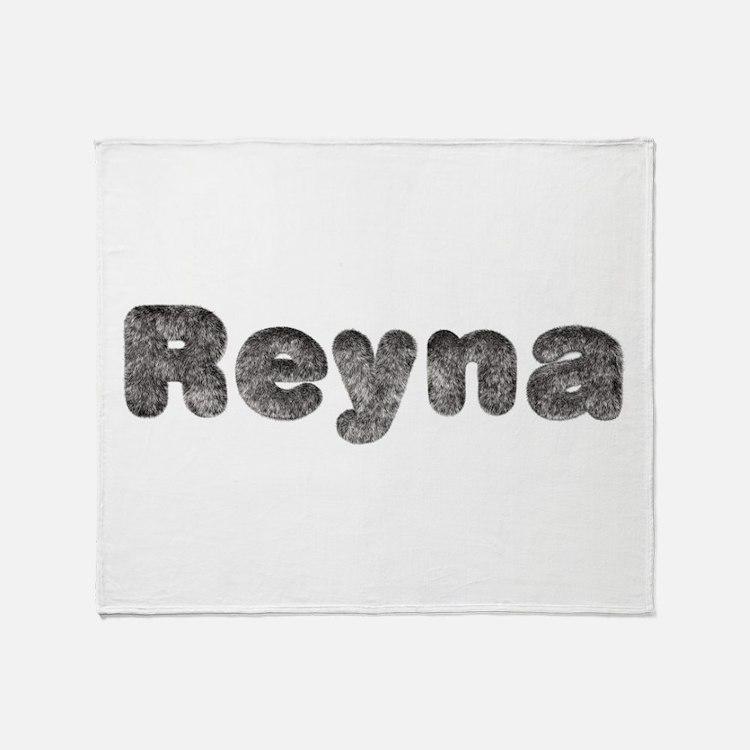 Reyna Wolf Throw Blanket