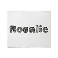 Rosalie Wolf Throw Blanket