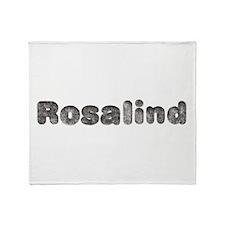 Rosalind Wolf Throw Blanket