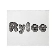 Rylee Wolf Throw Blanket